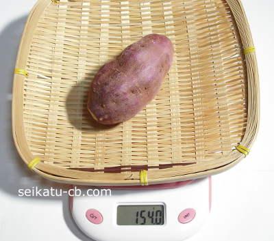 カロリー サツマイモ