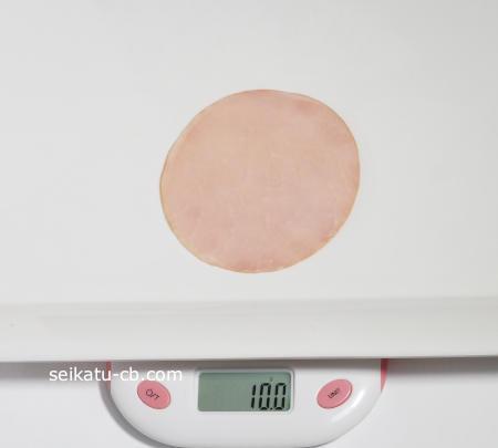 ハムの重さは1枚、1パックで何グラム、大きさやカロリーは?   生活知恵袋